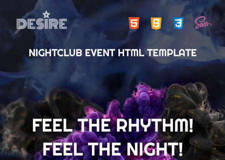 Night Club HTML5
