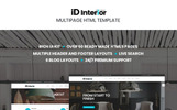 iD Interior - Template HTML5 para Sites de Design Interior
