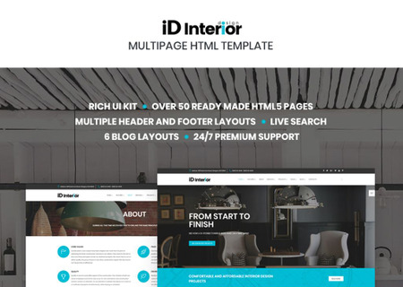 Interior Design HTML5