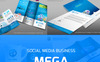 Social Media Branding Corporate Identity Template Big Screenshot