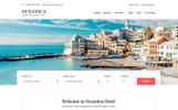 WPML-kész Oceanica - Hotel Booking WordPress sablon