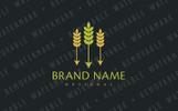Crop Arrows Logo Template