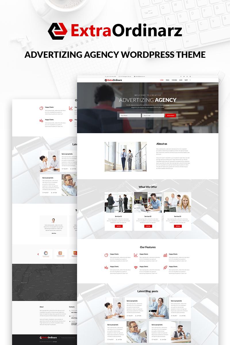 Адаптивный шаблон №66888 на тему бизнес и услуги, маркетинговое агентство
