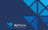AIRPLANE - Logo Template