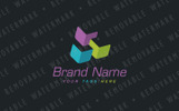 Interlaced Cubes Logo Template