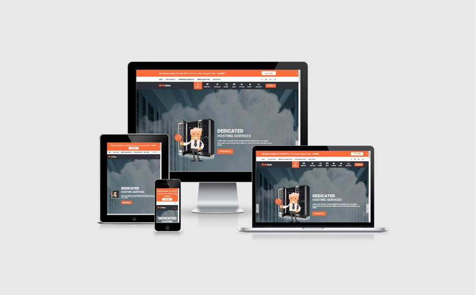 Tema de WordPress #64751 para Sitio de Registro de dominios