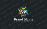 Compass of Worldwide Care Logo Template