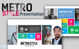 Metro Style Premium Presentation PowerPoint Template