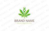 Cannabis Genetics Logo Template