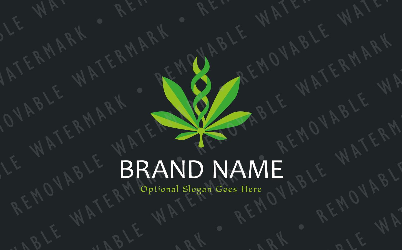 Cannabis Genetics Logo Template #66963
