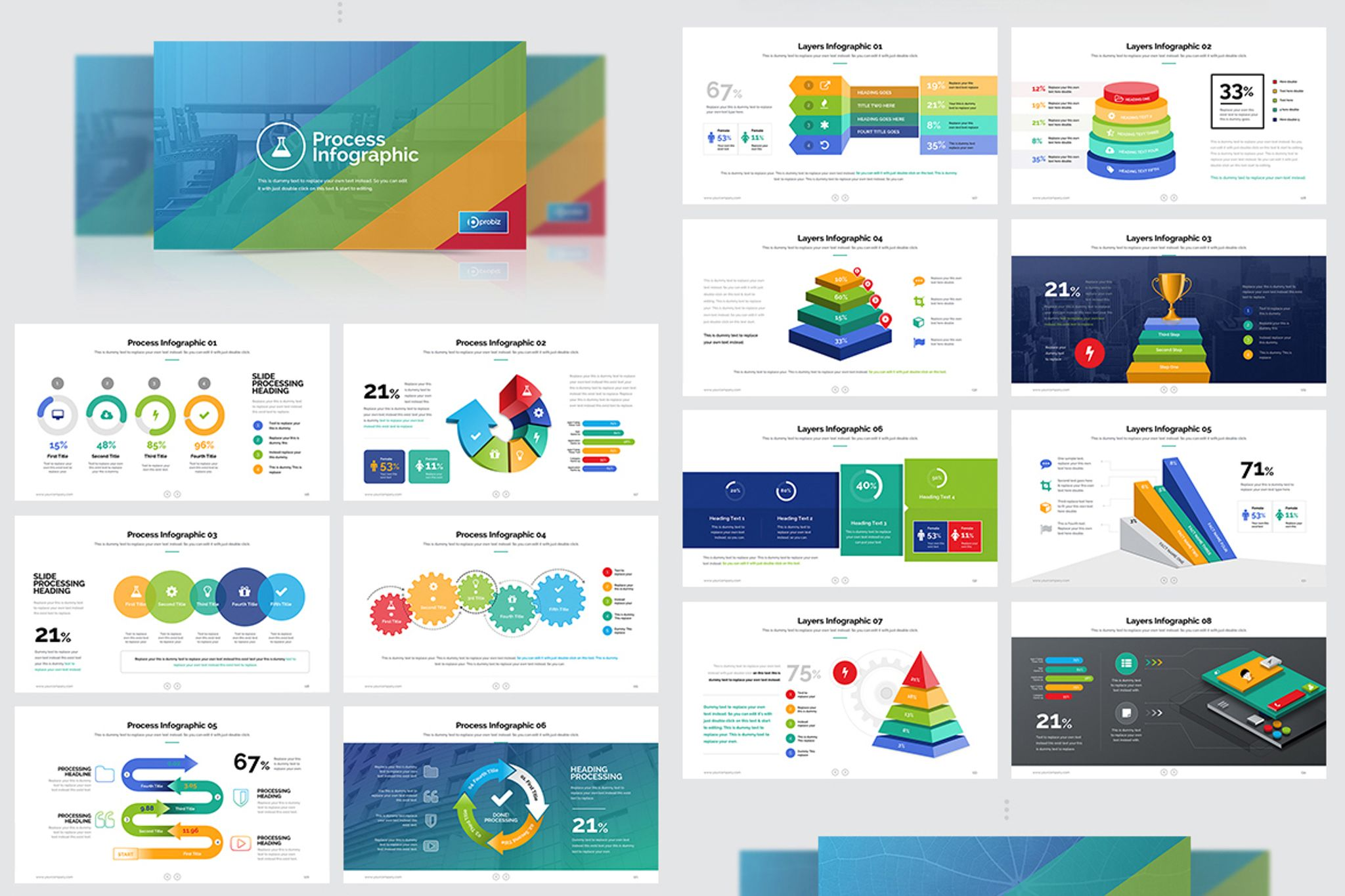 business plan marketing powerpoint template 67022