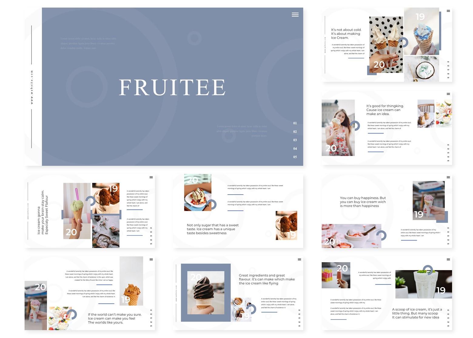 Fruitee | PowerPoint Template