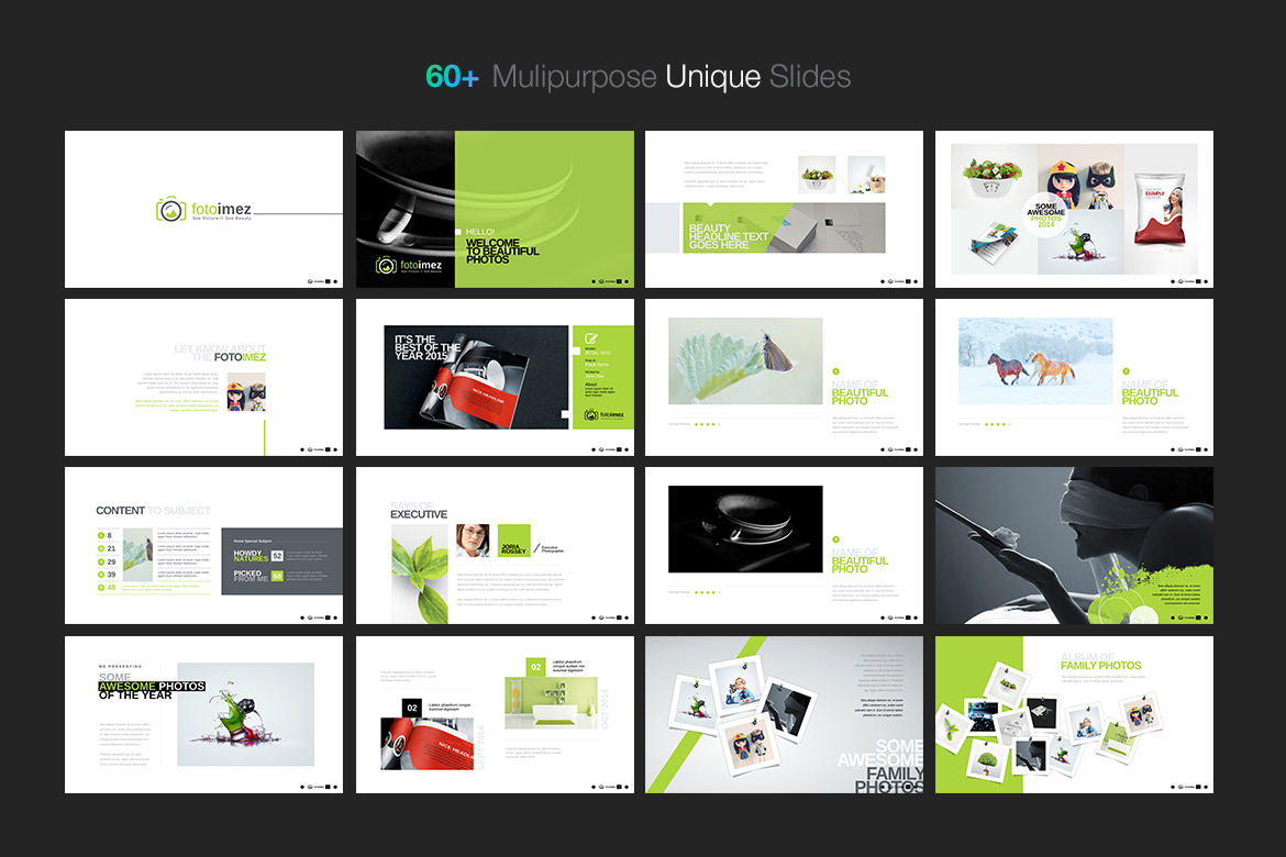 fotoimez portfolio photography product showcase powerpoint