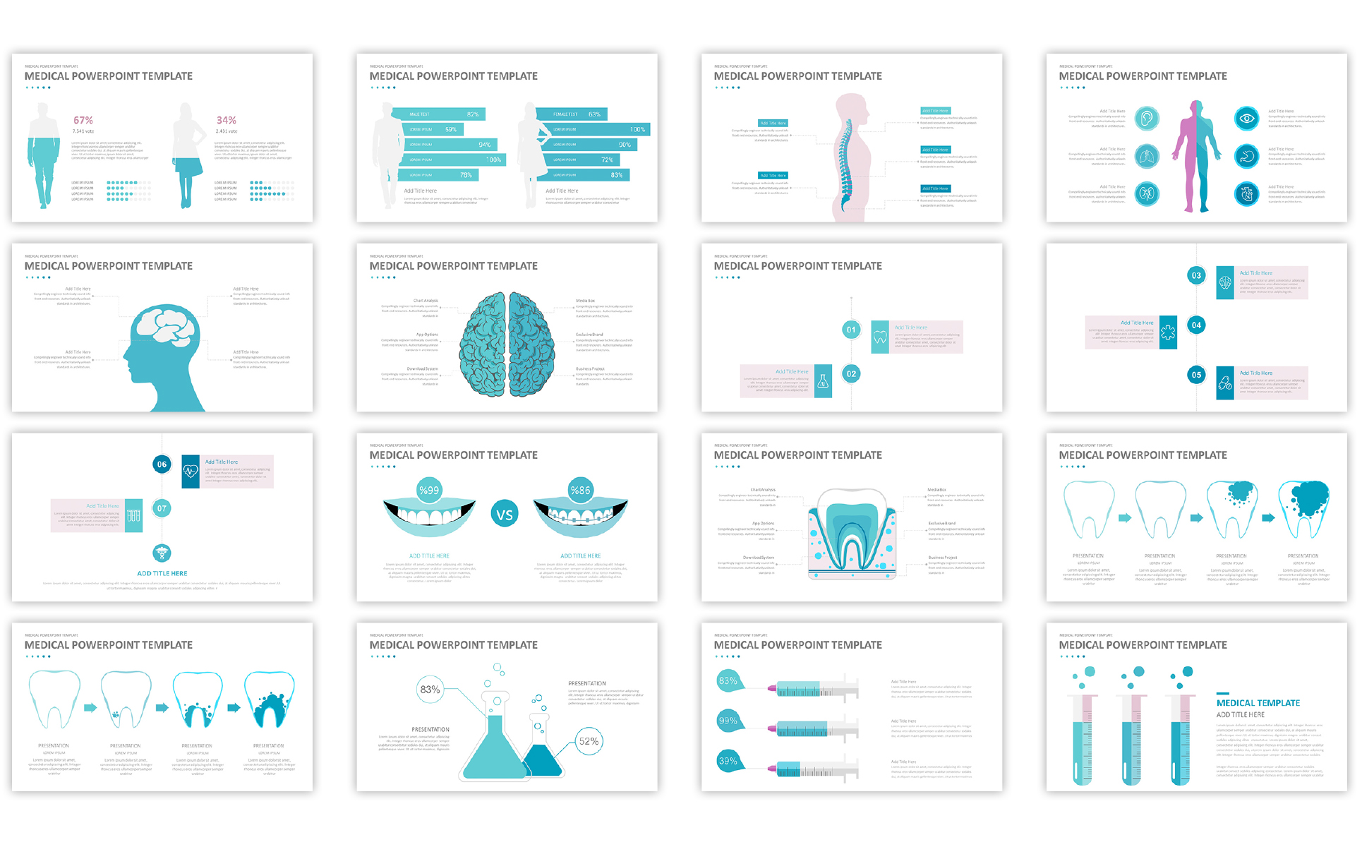 Medical powerpoint template 66958 medical powerpoint template big screenshot toneelgroepblik Images