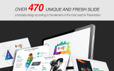 """Tema PowerPoint Responsive #80517 """"2019 Roots Business"""""""