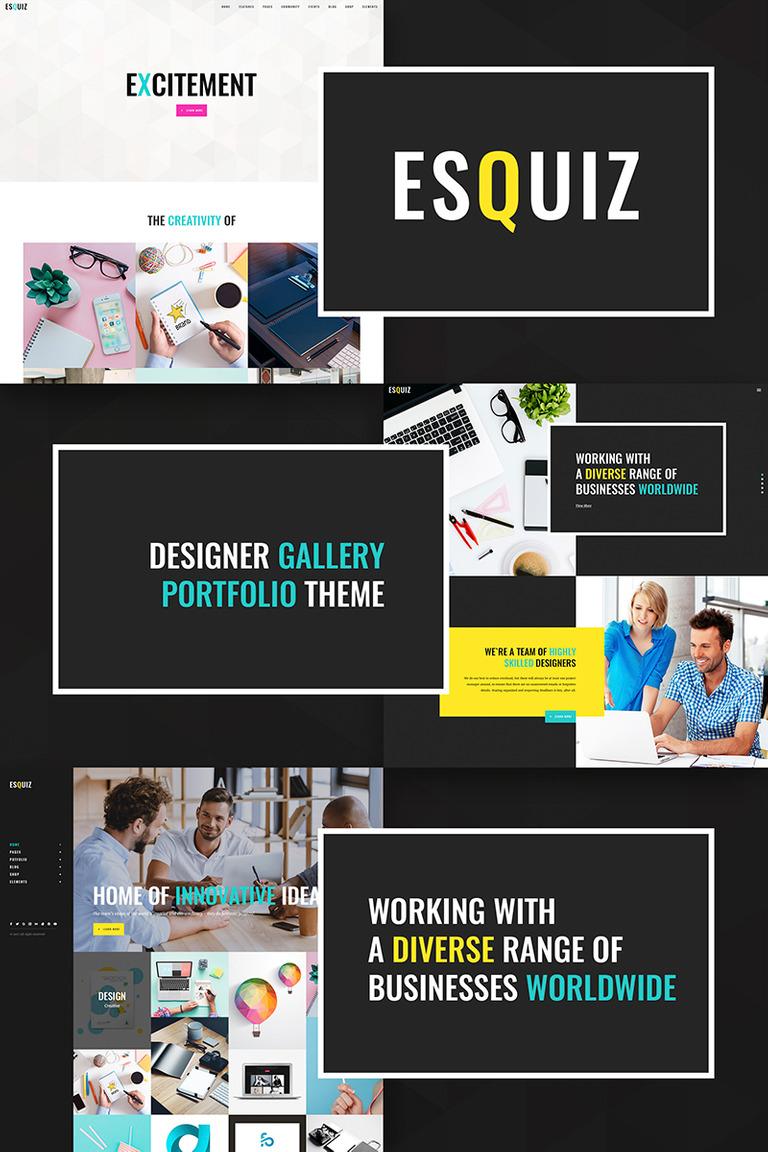 WordPress Theme #66943 für Web Design