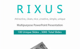 Rixus Presentation PowerPoint Template