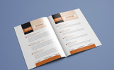 Resume Booklet  | Modern  / CV | Professional and Creative InDesign Resume Template