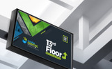 Signage Solution Pack : Billboard, Rollup Banner, Shop Sign Promotional Counter and Location Board Bundle