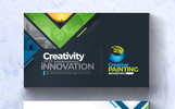 Creative Painting Business Card Corporate Identity Template