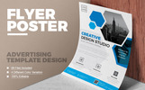 Clean & Modern Flyer Vol 01 Template de Identidade Corporativa  №75179
