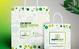 """Šablona firemního stylu """"Shopping Bag Design Template"""""""