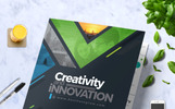 """CreativePainting Tri-fold Brochure"" design d'Entreprise adaptatif"