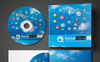 Premium Social Media CD and DVD Case   Cover Design PSD-mall En stor skärmdump