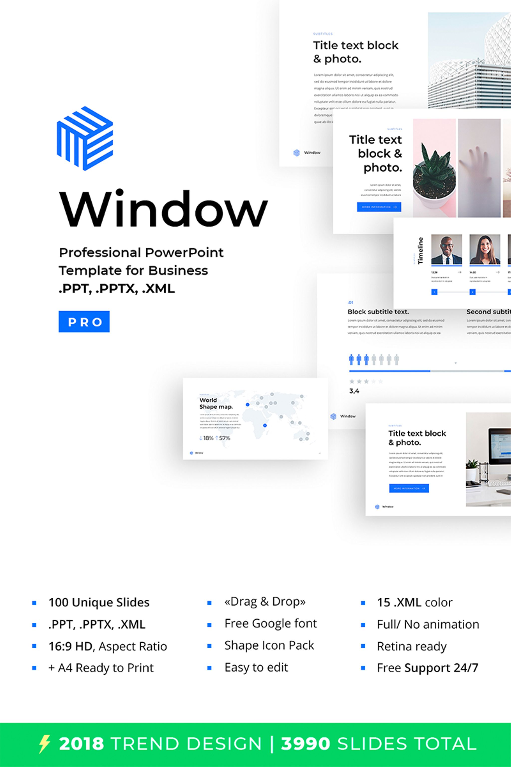 Business 2018 powerpoint template 67028 business 2018 powerpoint template big screenshot toneelgroepblik Image collections
