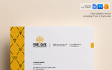 Creative Letterhead Template - Corporate Identity Template