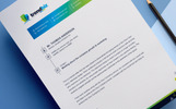 Corporate MS Word Letterhead - Corporate Identity Template