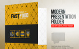 Presentation Folder With Pocket Template | Document Holder - Corporate Identity Template