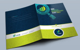 Presentation Folder Template for SEO (Search Engine Optimization) and Digital Marketing Agency Corporate Identity Template