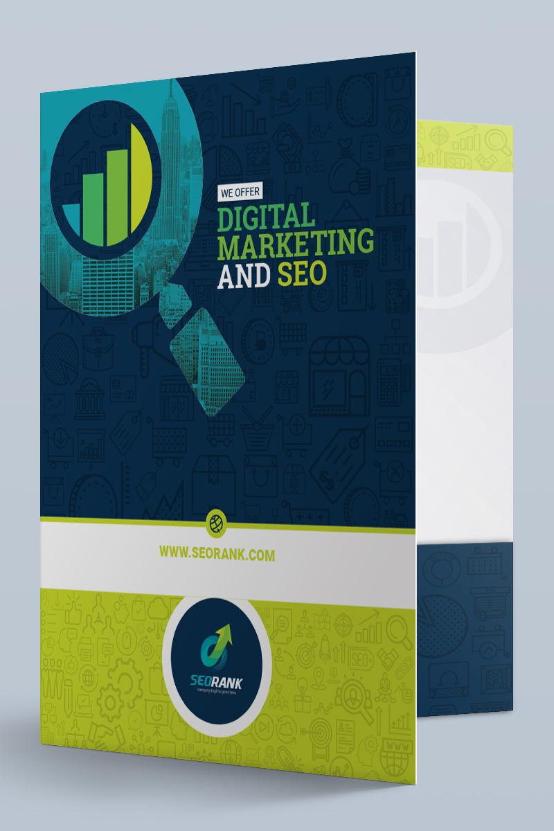 presentation folder template for seo (search engine optimization, Digital Marketing Presentation Template, Presentation templates