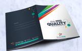 Creative Presentation Folder With Pocket Design Template - Template de Identidade Corporativa  №67662