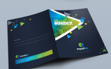 Modern Presentation Folder - Corporate Identity Template