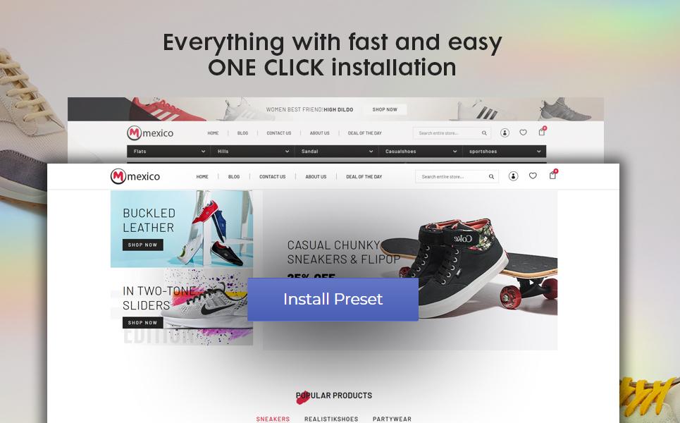 Maxico - The Shoes& Fashion Premium Shopify Theme