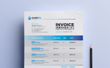 StudioFire Clean Invoice - Corporate Identity Template
