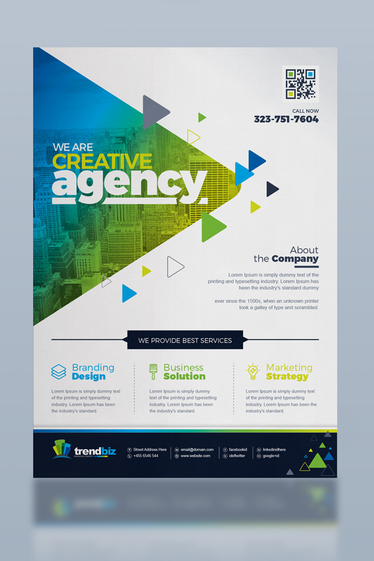 corporate business flyer corporate identity template 67119