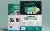 """Product Promotional E-Commerce Business Flyer-Poster Template 