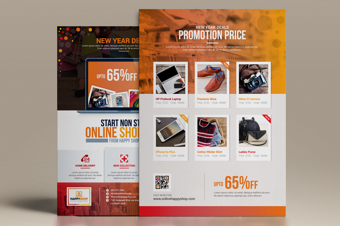 Product promotional e commerce business flyer poster template zoom in wajeb Gallery
