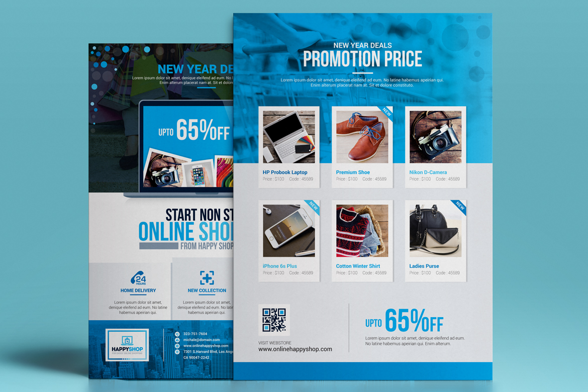 Product promotional e commerce business flyer poster template zoom in friedricerecipe Image collections