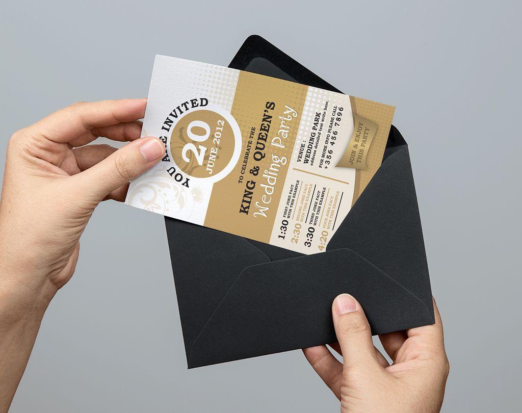 Wedding party invitation corporate identity template 67332 zoom in stopboris Choice Image
