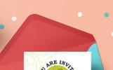 Bedrijfsidentiteit template over Evenement planner