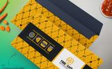 Prémium Envelop Packaging Design for Fast Food, Restaurant and Bakery Márkastílus sablon