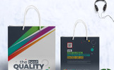 Creative Business Shopping Bag Design Corporate Identity Template