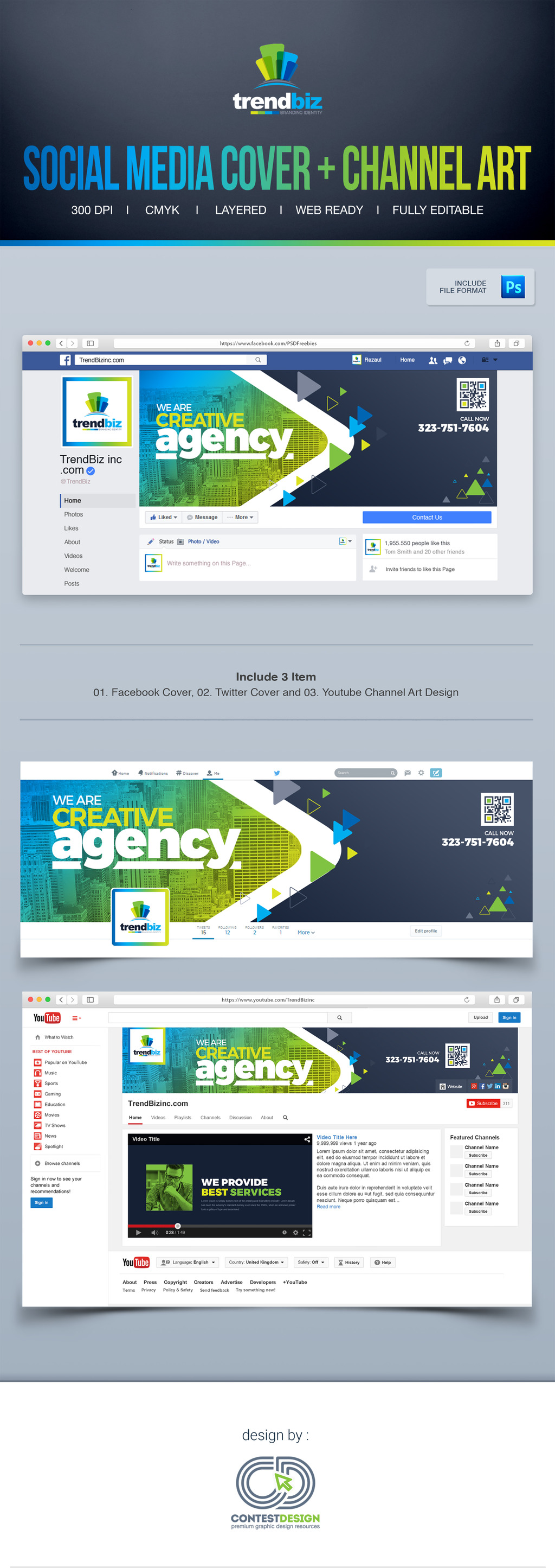 Social Media Cover for Corporate Business : Facebook Timeline Cover ...