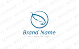 Fish Hook Logo Template