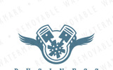 Winged Engine Logo Template