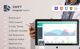 Swift Hospital - Bootstrap 4 Dashboard for Doctors & Hospitals Admin Template